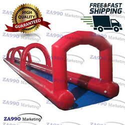 66x6.6ft Inflatable Water Slip N Slide For Kids & Adults With Air Blower  $2,110.00