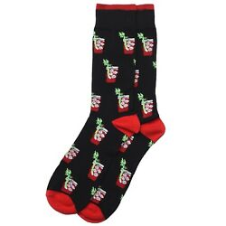 Bloody Mary Crew Socks New Men Novelty Gift Geek Chic $8.99