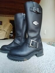 Slightly used Harley boots $135.00