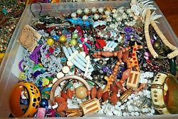 ESTATE VINTAGE - NOW JEWELRY LOT NECKLACES EARRINGS  READY TO WEAR NO JUNK 8 pc