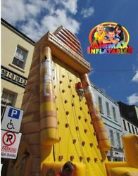 This is possibly one of the largest Inflatable Rock Climbing Wall at 35 FT HIGH