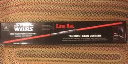 Star Wars Master Replicas Darth Maul Double Bladed Light Saber New Unopened Box