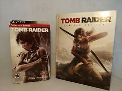 PS3 Collector's Edition Tomb Raider w Collectors's Edition Strategy Guide