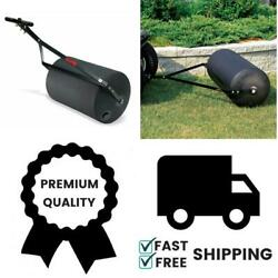 Poly 270-Pound Combination PushTow Poly Lawn Roller Heavy Duty Steel