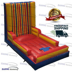 16x10ft Inflatable Stick Wall Jumping Carnival Game Playground With Air Blower