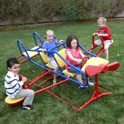 Lifetime Ace Flyer Teeter-Totter Backyard Playground Airplane See Saw Kids