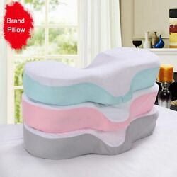 High Quality Pillow With Ergonomic Curve Improve Sleeping Headrest Neck Support