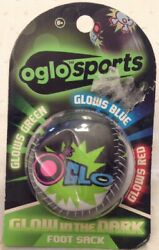 Oglo Sports Glow in the Dark Foot Sack Glows Green Blue amp; Red Age 6 $8.50