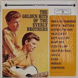 THE EVERLY BROTHERS: Golden Hits Of US WB WS 1471 Rock & Roll Vinyl LP $10.00