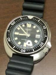 Seiko 6105-8110 Second Diver Automatic Authentic Mens Watch Works