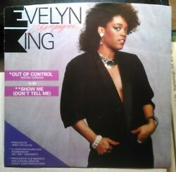 Evelyn King Out of Control ~ 1984 RCA 45 +PS