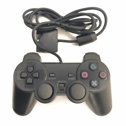PlayStation2 Dual-Shock PS2 Wired Replacement Generic Controller Gamepad
