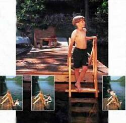 Wooden Dock  Swim Ladder Plans - Build it yourself !!! Free Shipping