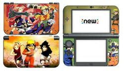 Nintendo New 3DS XL Skin Sticker Decal Cover 2 Choices Anime NARUTO