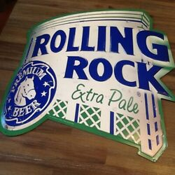 ROLLING ROCK Tin Sign 20