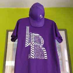 Designer Shirts REAL LOVE LOVE REAL designer shirt with matching hat just $40