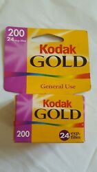 KODAK GOLD 200 General Use Color Print 35mm Film Roll EXPIRED 1 Roll Carded Box