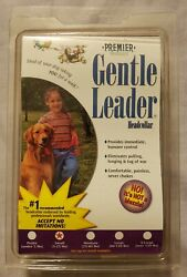 Premier Dog Gentle LeaderQuick Release Head Collar Size Small Red New $10.00