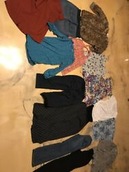 Huge Lot Maternity Clothes Size Medium Motherhood American Star Gap A Pea In The $109.99
