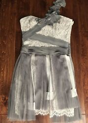$ 595 BCBG MAXAZRIA RUNWAY DRESS SZ 10