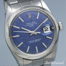 Rolex Oyster Perpetual Date Ref.1500 Cal.1570 1970 Automatic Auth Men Watch Work