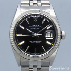 Rolex Ref.1601 Datejust Cal.1570 1968 Automatic Authentic Mens Watch Works