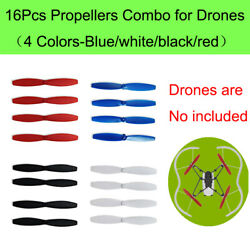 16x Propeller Props Bumper CW CCW Replacement For Parrot Drone Mambo Quadcopter $10.25
