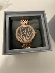 Michele Serein Mid City Lights Rose Gold Diamond Watch- With Box!- was $3200