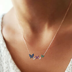 Personality Creative Butterfly Pendant Women's Necklace Fashion Jewelry Gift
