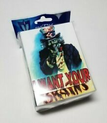 I Want your Brains Deck Box Max Protection GAMING SUPPLY BRAND NEW $11.00