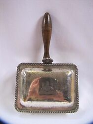 Vintage Silent Butler Waste Receptacle Silver Plated FB Rogers Major AB Adversis