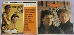 The Everly Brothers (Lot of 2 LPs): The Golden Hits Of  The Everly Brothers $12.89
