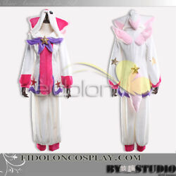 League of Legends Luxanna Crownguard Cosplay Costume  New Skin Home Wearing