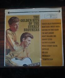 Golden Hits of the Everly Brothers SEALED in Original Shrink WS 1471 Vitaphonic  $23.96
