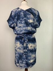 CATO Woman's Blue And White Summer Beach DRESS SIZE Small NWT $19.99