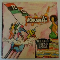 FUNKADELIC  ONE NATION UNDER A GROOVE  ORIG '78 LP WARNER BSK 3209 VG+EX-