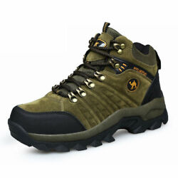 Mens Summer Hiking Shoes Outdoor Trail Trekking Breathable Climbing Shoes BROWN $49.99