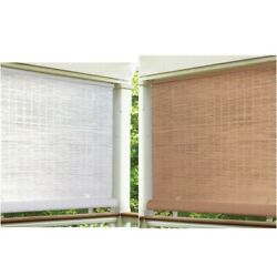 Outdoor Privacy Sun Shades Window Roll Up Patio Blinds Deck Screen Cordless Cool $40.00