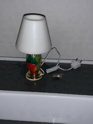 Miniature LAMP Town Square light dollhouse diorama table desk shade $10.00
