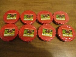 YANKEE CANDLE EXOTIC BLOOM TARTS LOT OF 8