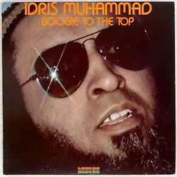 IDRIS MUHAMMAD: Boogie to the Top US Kudu KU-38 Jazz Funk  LP NM-