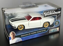 JADA Fast And Furious Roman's Ford Mustang 1:32 Diecast Car