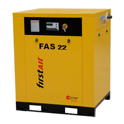 First Air FAS22 30-HP Tankless Rotary Screw Air Compressor (230V 3-Phase 125PSI)