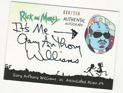 Gary Anthony Williams as Alien #4 RICK AND MORTY Season 2 Autograph Card 250