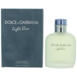 Light Blue By Dolce & Gabbana 4.2 oz  125 ml Men's Eau de Toilette New & Sealed