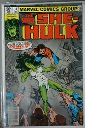 SAVAGE SHE-HULK #11 Marvel 1980 MICHAEL GOLDEN Signed Auto HOT Cover