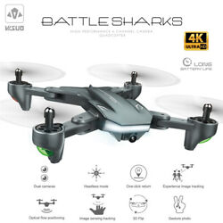VISUO XS816 Drone with Camera 4K Wifi FPV Optical Flow Foldable Quadcopter S6A1 $77.35