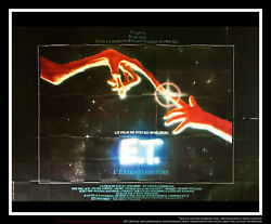 E.T THE-EXTRA-TERRESTRIAL 10x13 ft Giant Billboard Original Movie Poster 1982