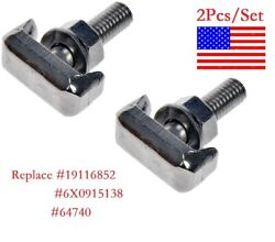 2Pcs Pack Battery Terminal T Bolt Replace for Dorman #64740 Free Shipping $6.57