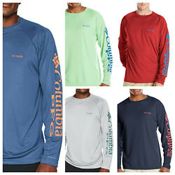 Columbia Men's PFG Terminal Tackle Long Sleeve Tee Size: Small -XX-Large